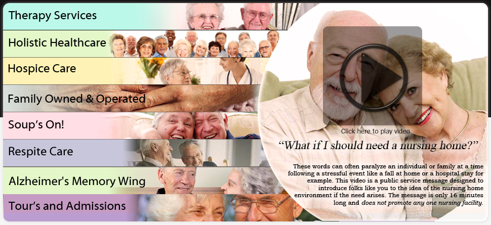 """What if ""I"" should need a nursing home"
